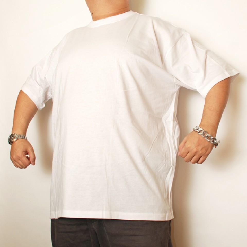 Cotton Short Sleeve Undershirt - White