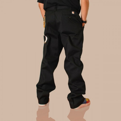 CARHARTT Twill Work Pant - Black