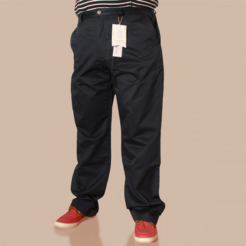 Easy Straight Chino - Navy