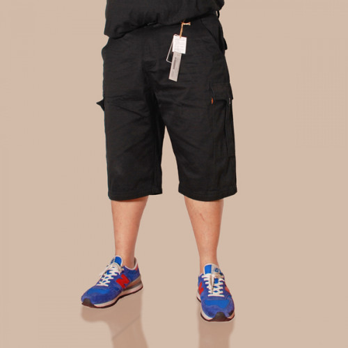 Sleek Cargo Shorts - Black