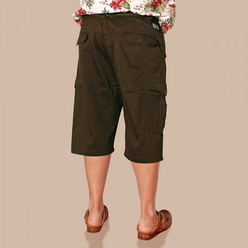 Sleek Cargo Shorts - Dark Chocolate