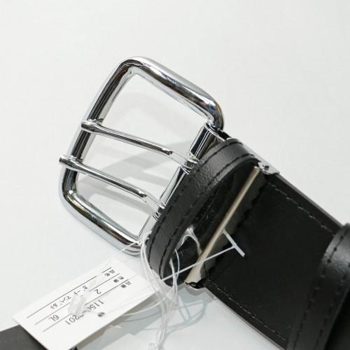 Super Length Double Hole Belt - Black