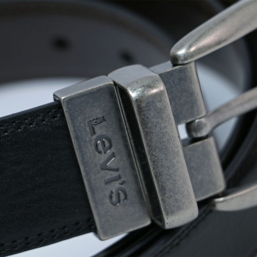 Extended Size Reversible Belt - Brown/Black