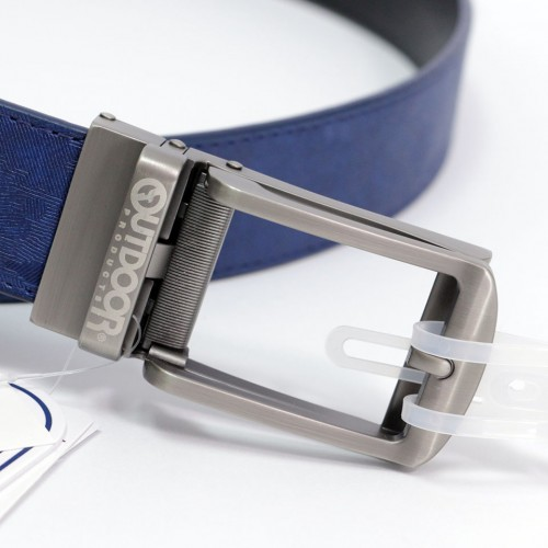Camouflage One Touch Buckle Belt - Blue