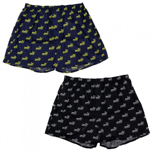No.1 Logo 2P Boxer Set - Black/Navy