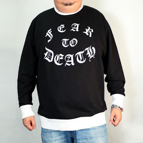 Fear To Death Sweatshirt - Black