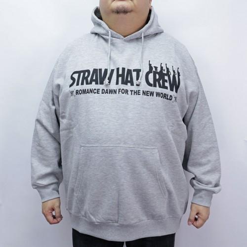 Straw Hat Crew Hoodie - Grey