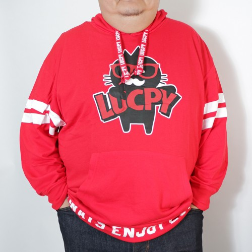 Always Enjoy Lucpy Hoodie - Red