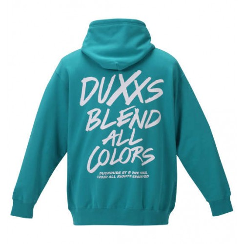 Duxxs Blend All Colors Hoodies - Green