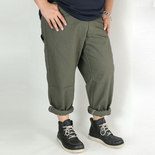 Relaxed Fit Duck Jeans - Moss