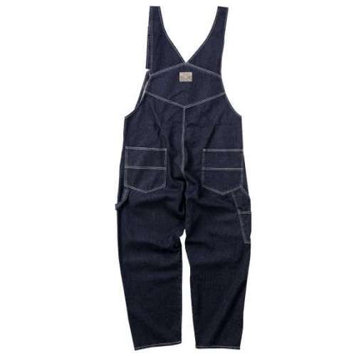 Denim Overalls - Navy