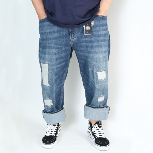 Premium Savage Jeans - Destroyed Wash