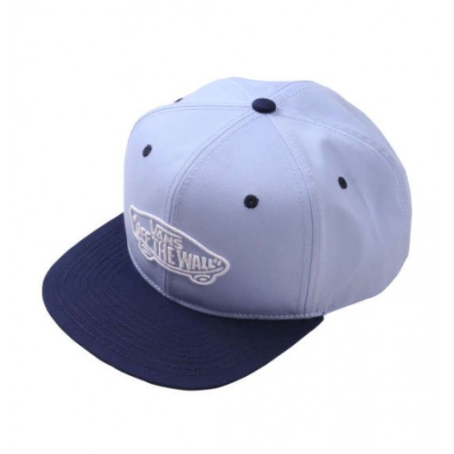 3D Embroidery Twill Cap - Blue