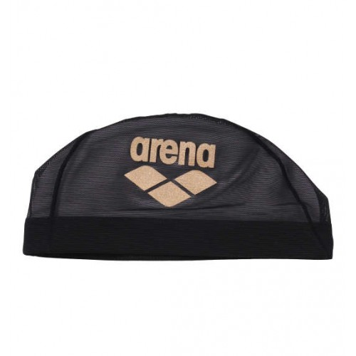 Mesh Swim Cap - Black