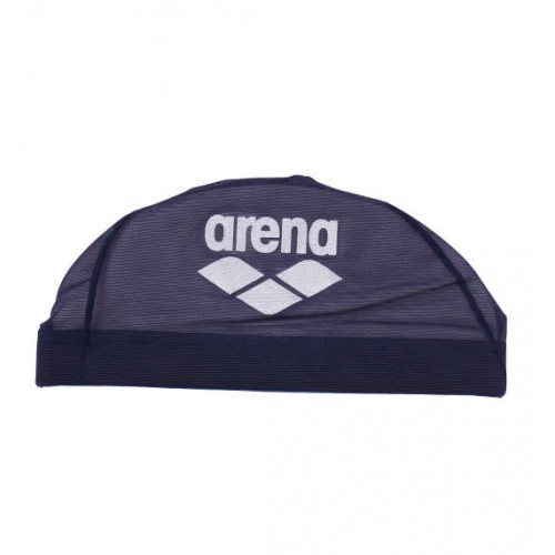 Mesh Swim Cap - Navy