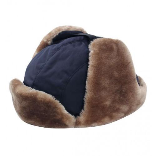 Trapper Hat - Navy