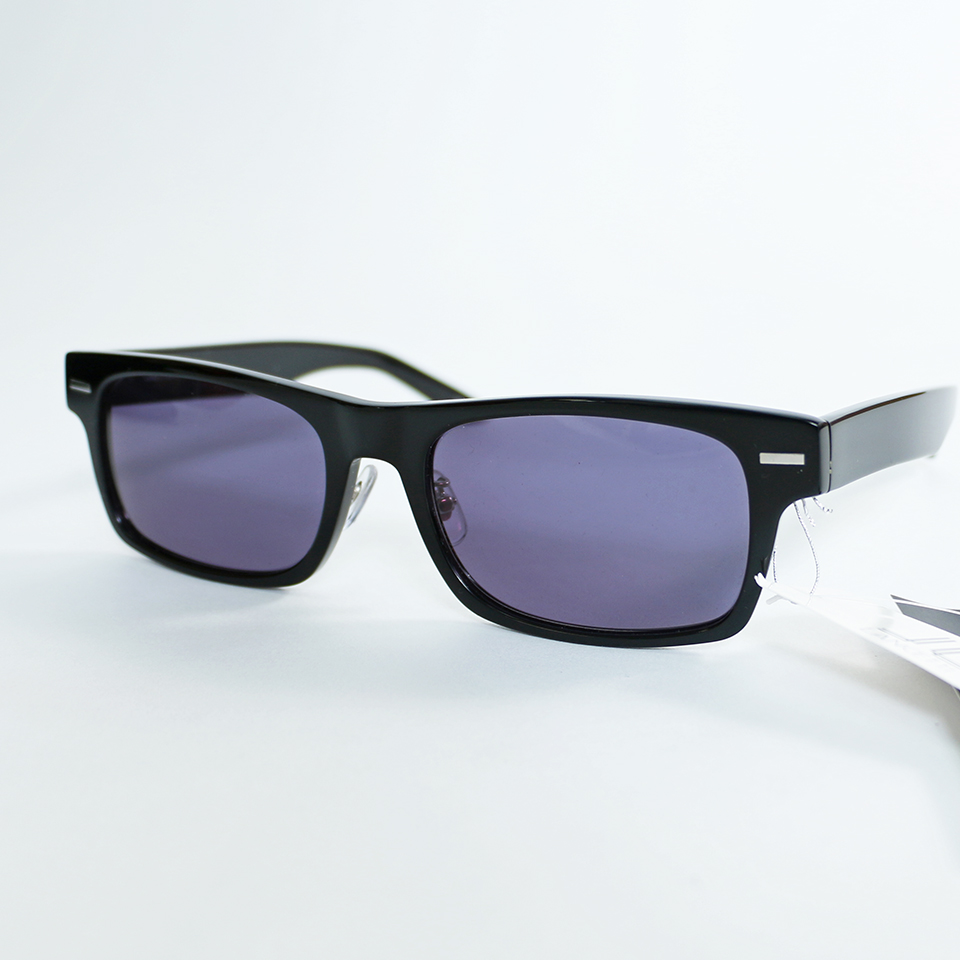 Simple UV Blocking Sunglasses - Black