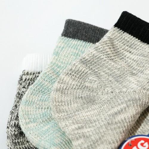 Knit Based Ankle Socks - Multi
