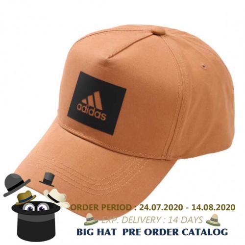 Logo Canvas Cap - Brown