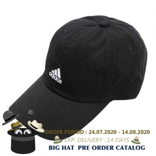 Cotton Twill Cap - Black