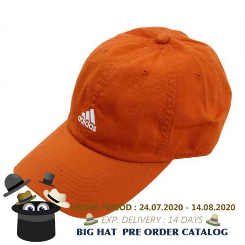 Cotton Twill Cap - Orange
