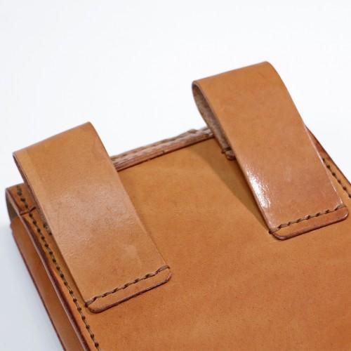Leather Waist Bag - Brown