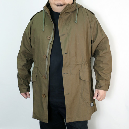 4 Seasons Cotton Coat - Forest Green