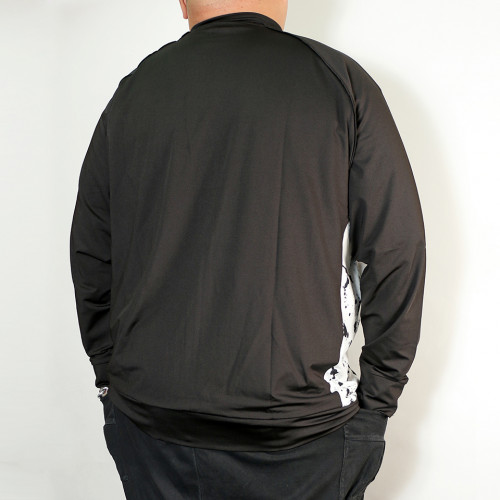 Full Zip Track Jacket - Black