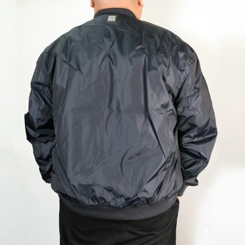 Nylon Jersey Lined Jacket - Navy