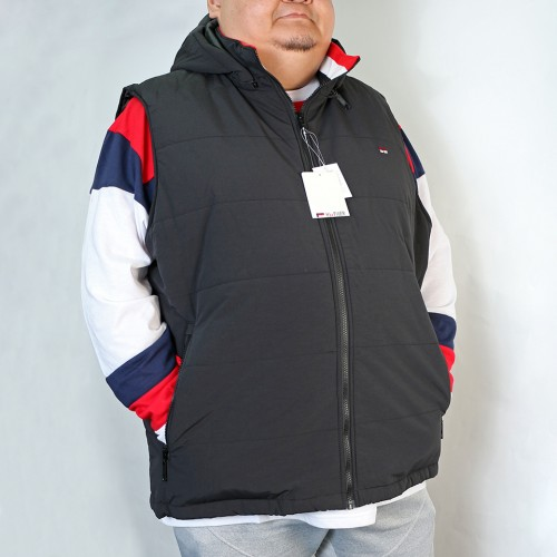 【Coming Soon】Quilted Vest - Black
