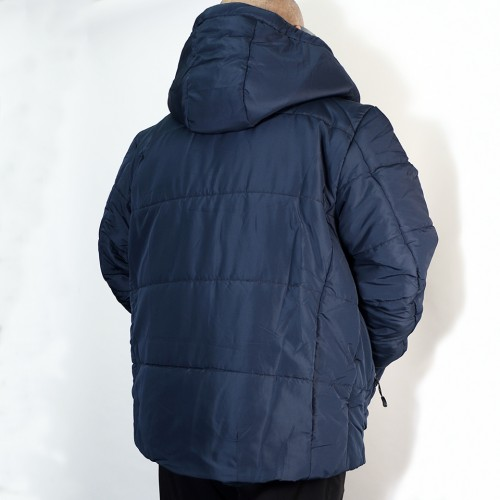 High Airtightness Cotton Jacket - Navy