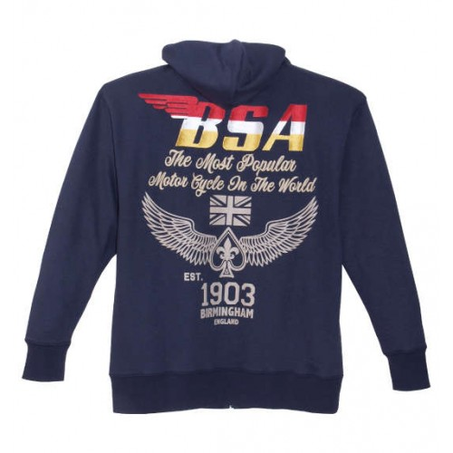 20th Century BSA Embroidery Jacket - Navy