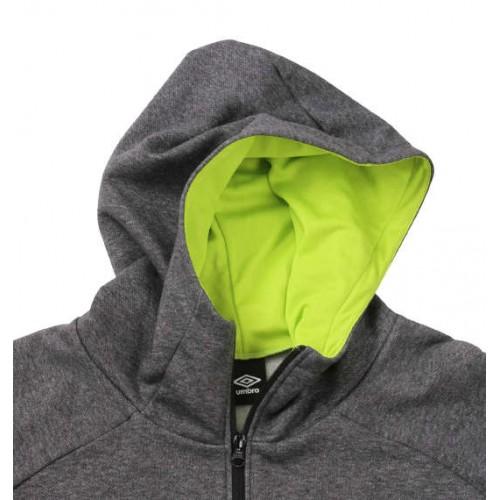 U/Warm Soft Sweat Hooded Jacket - Charcoal