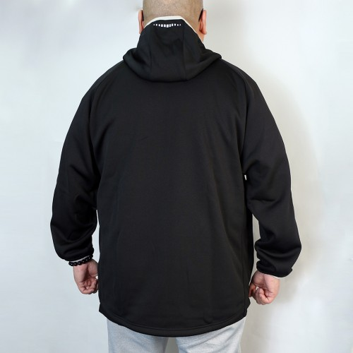 Bonding Fleece Jacket - Black
