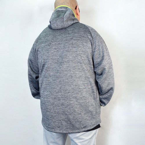 Bonding Fleece Jacket - Grey
