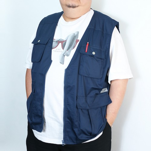 Working Vest - Navy