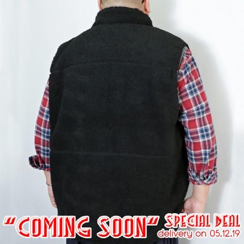 Bore Fleece Pocket Vest - Black ** Coming Soon Special **