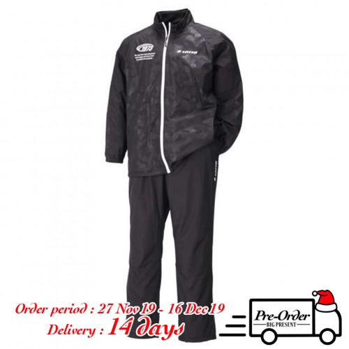 Taffeta Warm Fleece Jersey Set - Black