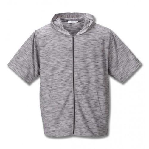 Slab Ripple S/S Hoodie Set - Grey