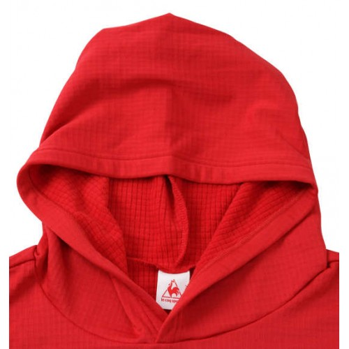 Front Logo Training Hoodie - Red