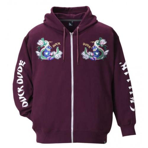 Duck Dude Full Zip Parka - Purple
