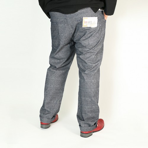 403麻混 Cool Flex Denim - Charcoal