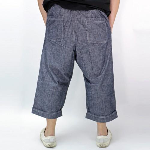 Summer Cropped Pants - Black