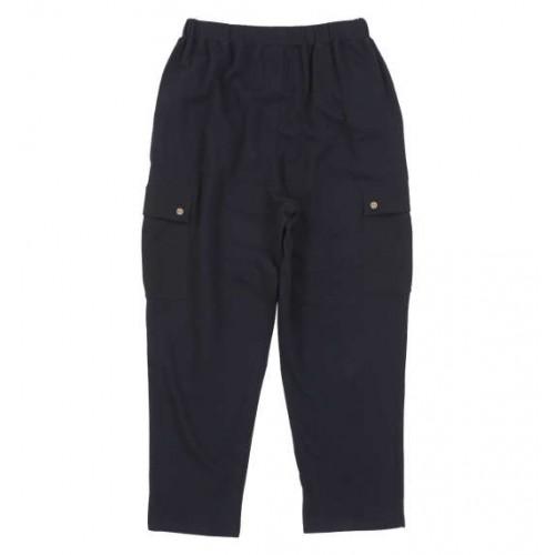 Casual Cargo Pants - Black