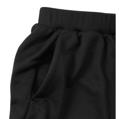 Light Smooth Sweat Pants - Black
