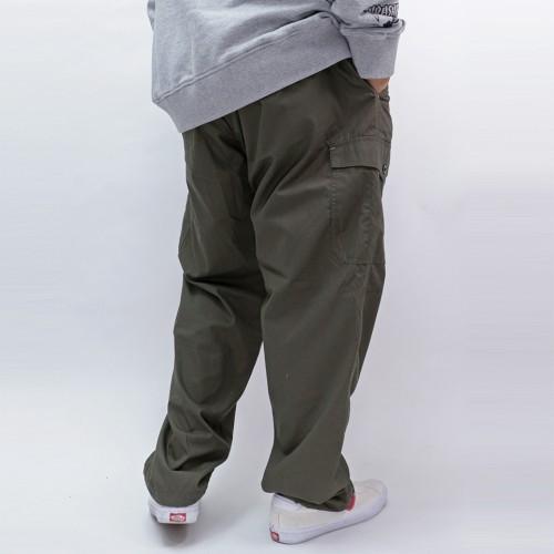 Water Repellent Mesh Cargo Pants - Olive