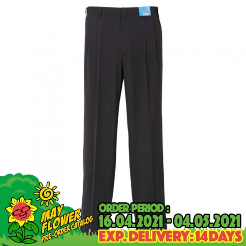 Stretch Airy Pants - Charcoal