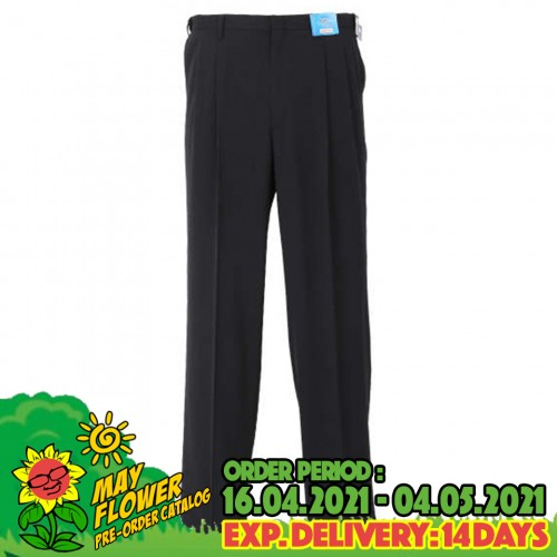 Stretch Airy Pants - Navy