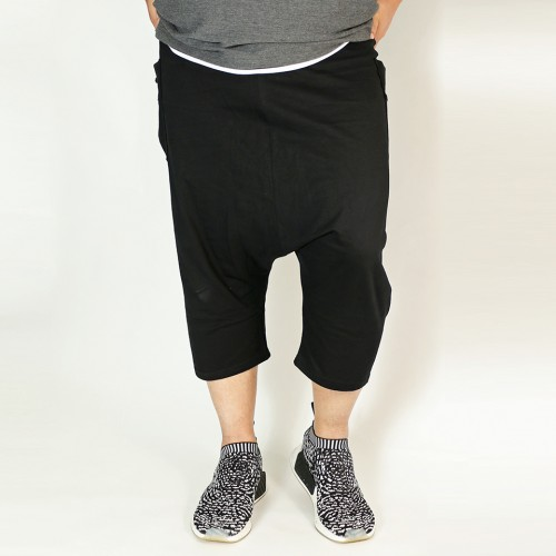 Easy Comfort Sarouel Shorts - Black