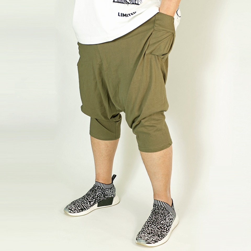 Easy Comfort Sarouel Shorts - Olive